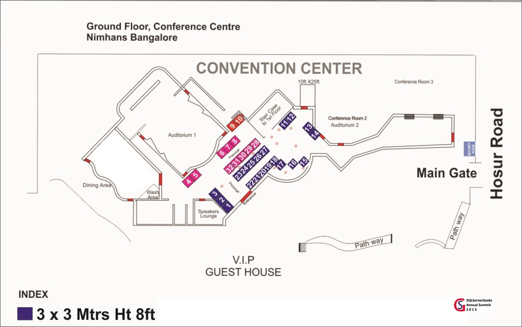 Venue Layout & Booth Sizes
