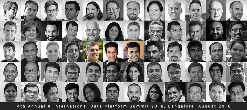 Pre-Con 7 & 8 Aug || Summit 9 - 11 Aug || Data Platform Summit 2018