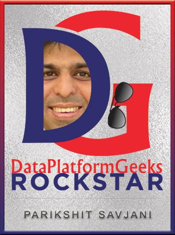 Parikshit_Savjani Badge